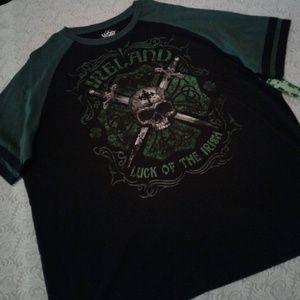 "🌺 NWT Lucky ""Luck of the Irish"" Shirt"